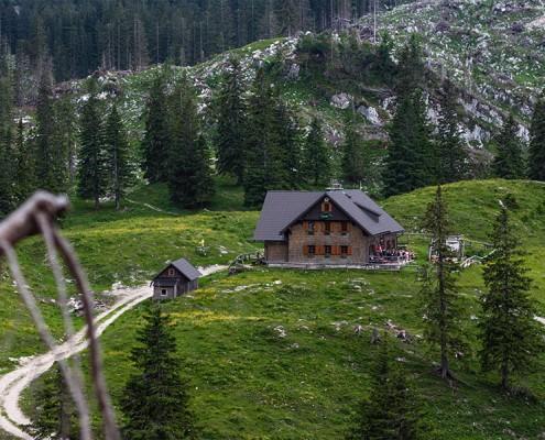 Ybbstalerhütte - Privatzimmer & Ferienwohnungen in Lunzer See