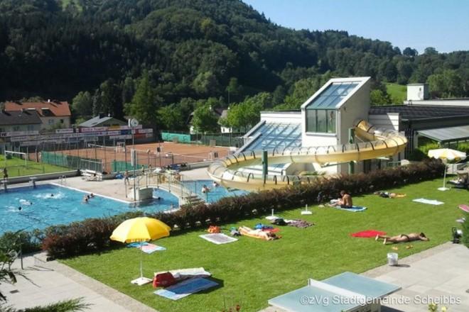Allwetterbad Scheibbs - Privatzimmer & Ferienwohnungen in Lunzer See