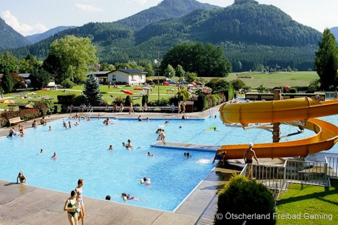 Ötscherland Freibad - Privatzimmer & Ferienwohnungen in Lunzer See